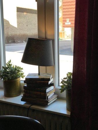 Ornskoldsvik, Suecia: Unik lampfot