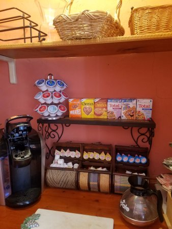 Burbankrose: Food selections for breakfast