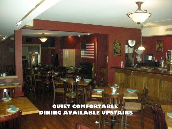 เวสต์เชสเตอร์, เพนซิลเวเนีย: Upstairs dining room is great for a family or a quieter atmosphere. Also for larger groups !!