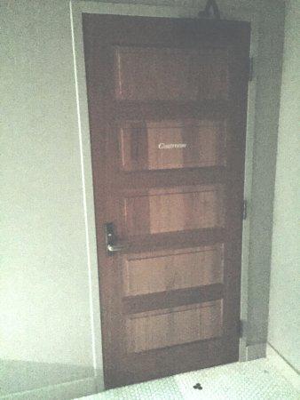 Preachers Son Dining Room Entrance To The Basement Speakeasy Coatroom