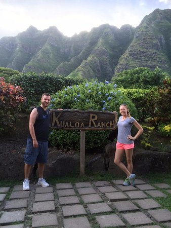 Kaneohe, Гавайи: me and the hubby