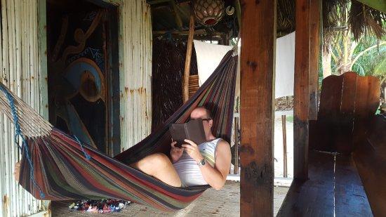 Derek's Place: Beach Cabana/Casa Grande 2nd porch