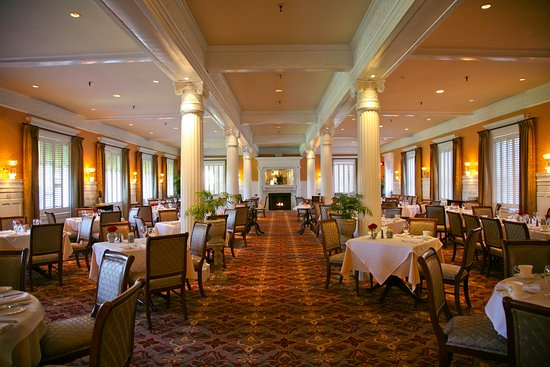 The historic Grand Dining Room
