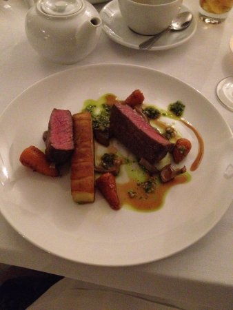 Aberlady, UK: Beef.......so lovely