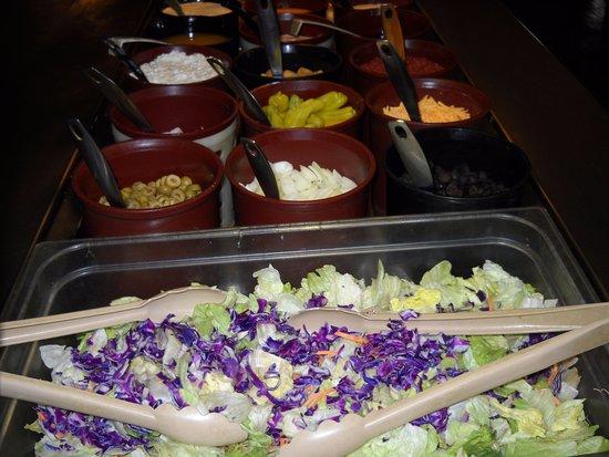 Wonewoc, WI: Salad Bar