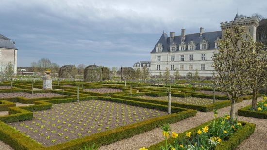 Chateau de Villandry: Villandry a fine marzo