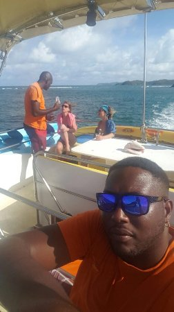 Le Francois, Martinique: Caraibes Evasion Bateau Arc en Ciel