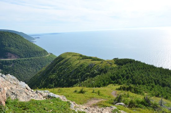 Cabot Trail: The view is like eye candy