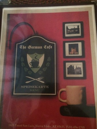 The German Cafe: Great schnitzel and more!