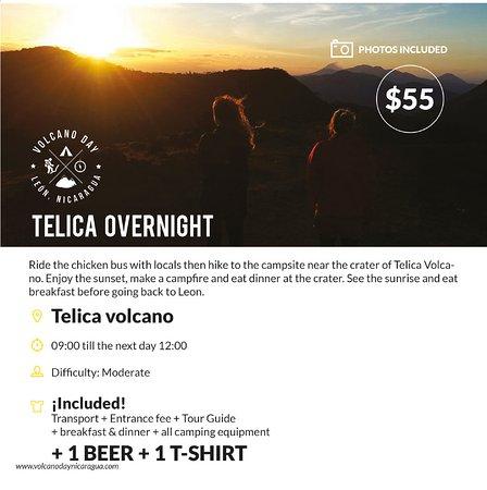 Leon, Nicarágua: Telica Overnight