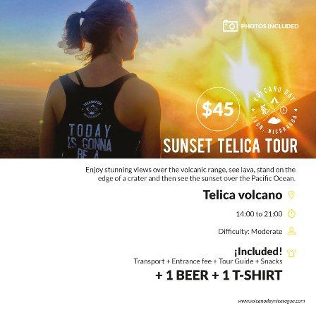 Leon, Nicarágua: Sunset Telica Tour