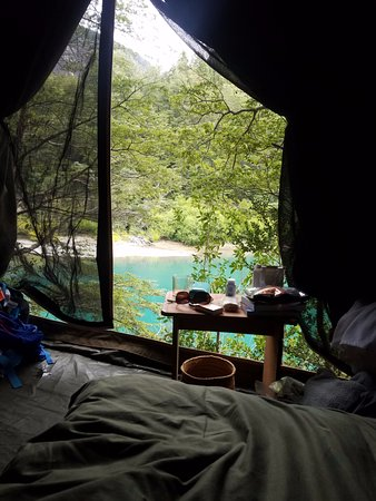 Bio Bio Camp: You can't beat this room from the bed