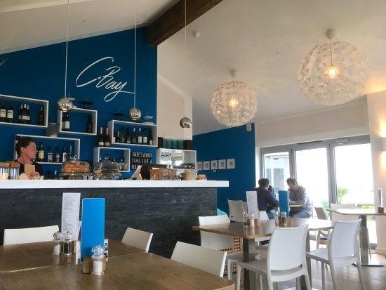 Crantock, UK: The cafe/bistro at CBay.
