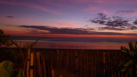 The Oberoi Bali: sunset view