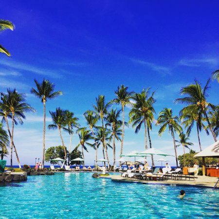 Fairmont Orchid, Hawaii: pool view