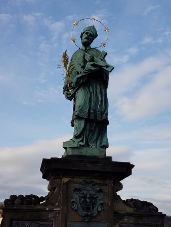 Jungmann: St. Charles Bridge, a nice walk, or quick tram ride away!