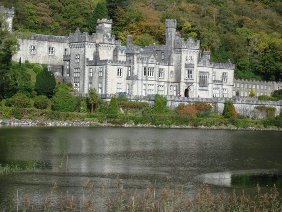 Kylemore Abbey Co Galway built by a Brit for his Irish wife and employed many Irish during last