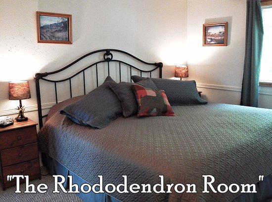 Concrete, WA: The Rhododendron room