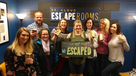 Saint Cloud, MN: Escapers from Mission:Mafia - they found the gold!