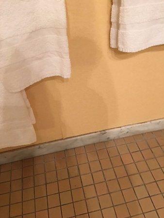 Hilton Strasbourg: floor tile condition