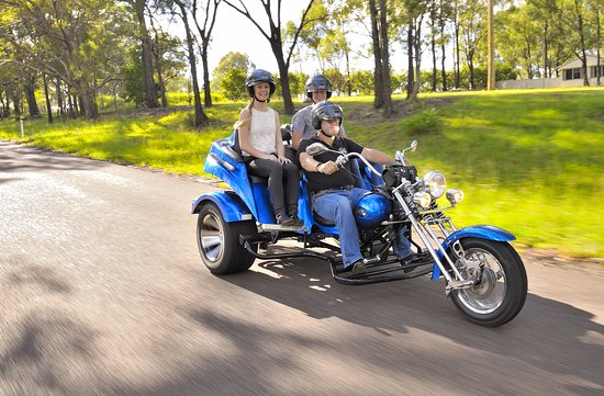 Lovedale, Australien: Cruise the valley in style
