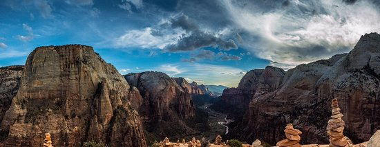 Springdale, UT: Angels Landing Zion National Park
