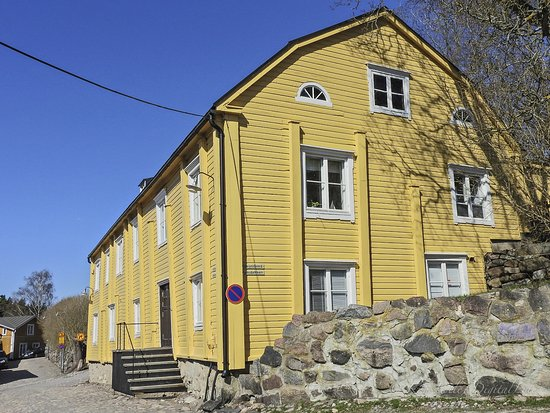 Old Town Porvoo, brightly painted