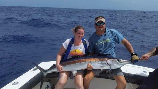 Dorado, Puerto Rico: Blue marlin