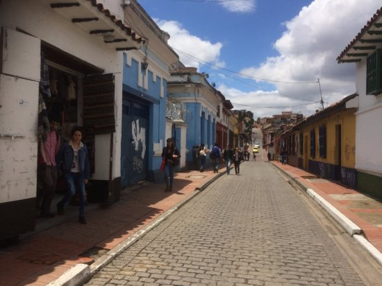 La Candelaria: A Typical Street Scene