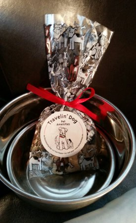 Beazley House: Our pup got special treats too!