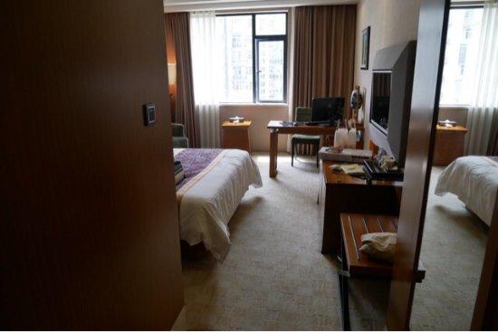Jingdezhen, China: ホテルの様子です