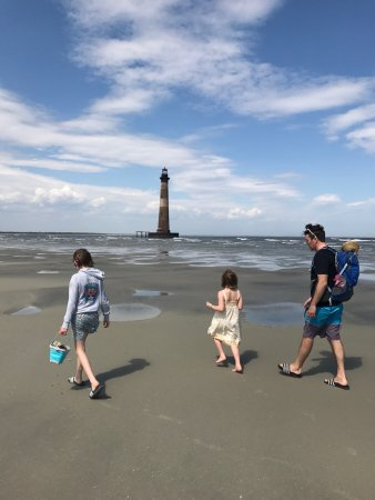Folly Beach, SC: This trip was incredible! Captain Randy made the ride to and from Morris Island so much fun & Mo