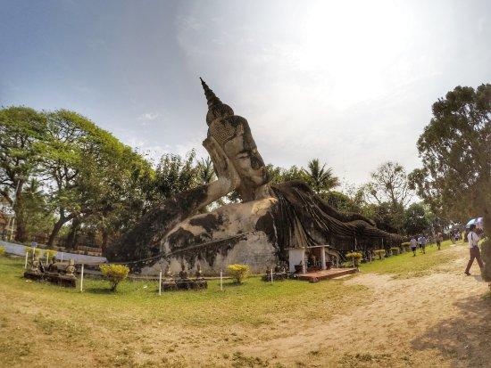 Vientiane, Laos: Buddha park statues