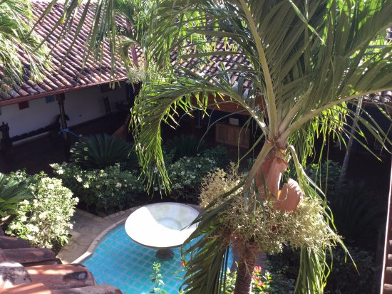 Miss Margrit's Guest House: View from room balcony