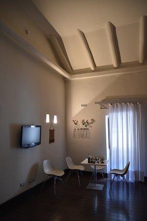 Casa Cartagena Boutique Hotel & Spa: salita de estar de habitación