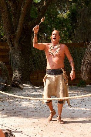Kissimmee, Floryda: Native American history presentation