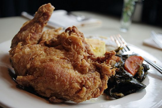 Every Wednesday; Skillet Fried Chicken at Lucky 32 Southern Kitchen in Cary