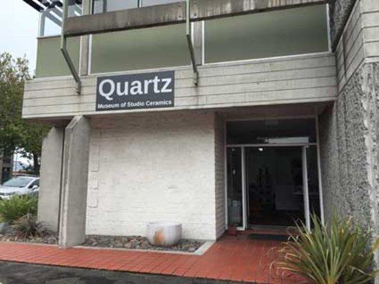 Whanganui, Nuova Zelanda: Quartz Museum Entry