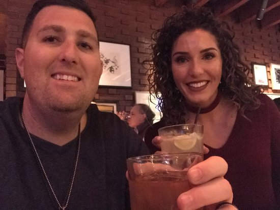 South Beverly Grill: Old Fashion and Margarita! Our favorites!