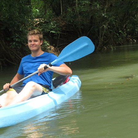 Quepos, Costa Rica: confortable and new kayaks