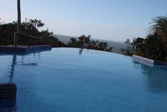 Totoco Eco-Lodge: Infinity pool