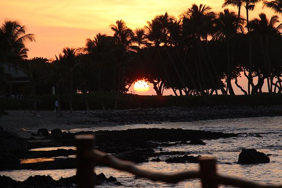 Fairmont Orchid, Hawaii: Sunset at Fairmont Orchid, Big Island
