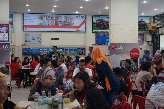 Pekanbaru, Indonesia: Kopi KimTeng during brunch