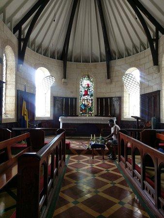 Saint James Parish, Barbados: Inside Barbados church