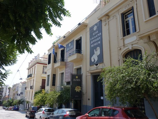 Ilias Lalaounis Jewelry Museum: このあたりは観光客の姿もまばらです