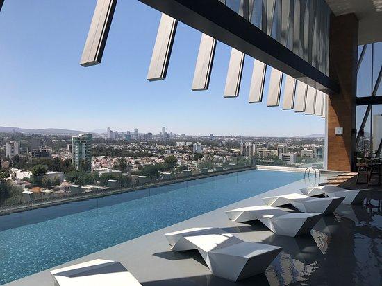 Pool Picture Of Ac Hotel By Marriott Guadalajara Mexico Guadalajara Tripadvisor