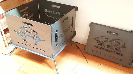 flat pack portable fire pit picture of oz wild emporium geelong rh tripadvisor com au