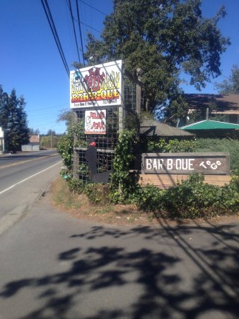 Sebastopol, CA: Pack Jack Barbecue is a Destination location! 10 min Granting 20 miles from the Ocean