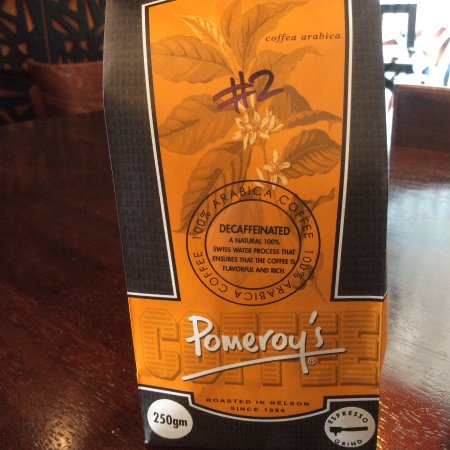 Richmond, Yeni Zelanda: We stock Pomeroys decaffeinated coffee