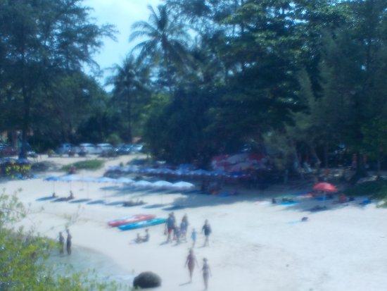 Rawai, Thailand: Ya Nui Beach, Blick auf einen Teil des Strandes